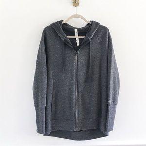 Alo Yoga Stellar Fleece Zip Jacket Hoodie